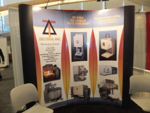 Visit Deltech Furnaces in booth 340 at the Ceramics Expo USA in Cleveland in 2015