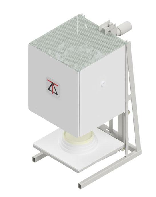 1600C Electric Lift Octagonal Bottom Loading Furnaces