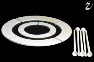 Heptatec high alumina pins and washers as shown on their new website