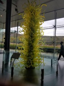 Chihuly sculpture Corning Museum of Glass